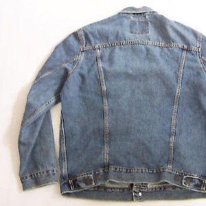 56ac31a1d Levi's 72334 Denim trucker jacket - men's SM